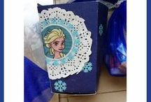 **Happy People Studio - Frozen** / Frozen Princess party with Elsa and Anna.... and lots of cute DIY ideas!