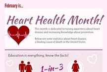 February American Heart Month / Heart disease is the leading cause of death for men and women in the United States. Every year, 1 in 4 deaths are caused by heart disease. February is American Heart Month. Share tips to prevent from heart diseases here.
