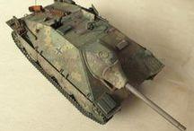 """Modellismo - Hetzer / Jagdpanzer 38(t) """"Hetzer"""" (Academy 13230) - 1/35 scale model (http://vonvikken-modellismo.blogspot.it/search/label/Hetzer)"""