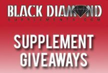 Free Supplements! / Follow this board for monthly supplement giveaways!