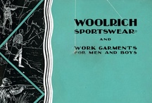 Vintage Catalog Covers / by Woolrich Inc.