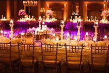 Purple & Gold Indian Wedding