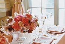 Coral & Peach Wedding