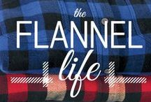 #TheFlannelLife / It isn't Fall without Flannel. For generations, Woolrich flannel has stood for unbeatable warmth, uncompromised quality, and unwavering design. Share your love for flannel by using #TheFlannelLife  / by Woolrich Inc.