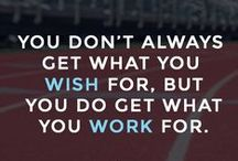 Motivation / Motivational Quotes for the athlete in you.