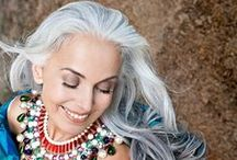 Fabulous in Grey / Grey hair rocks!