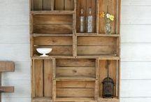 Palette en projekte / Alles te make met palette, dryfhout, optelgoed en die DIY daarvan