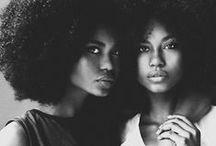 Black Beauty / La beauté d'une femme noir , métisse