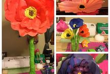 Florigami-Paper Flowers / Alternatives to traditional flowers.