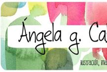Angelagcabrera.blogspot.com / Watercolour, food and life