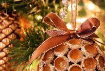 Ozdoby świąteczne ECO / Inspiracje i porady nt. tworzenia ozdób świątecznych w stylu ECO