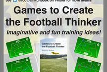 MLH Football Thinker / Football sessions . Football book.
