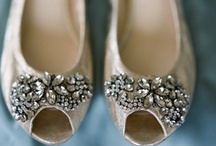 Bridal shoes and bags