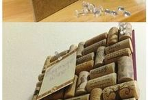 DIY from wine corks