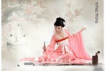 Chinese Hanfu dress