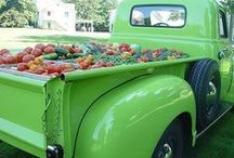 Farm Trucks / Here at Simple Gifts Farm we love classic trucks. Here are some I found around the web. / by Simple Gifts Farm