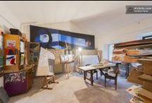 spazi di ValdericArte / le stanze della residenza creativa sono a disposizione per tutti coloro che soggiornano qui!