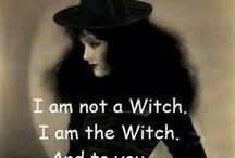 Witches, Black Cats, and Halloween / My favorite season