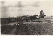 47th Bombardment Group | WW2 / US Army Air Forces 47th Bombardment Group in World War II. A-20 Airplanes.