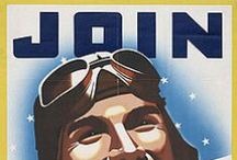 Posters / Posters, WW1, WW2, Recruiting, Propaganda, War Bonds.