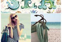Inspiration board / Beach