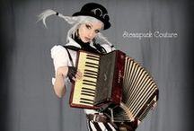 Steampunk / Inspirations for photo sessions.