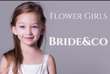 Weddings - Little Ones / Stealing the show, in the most precious way! Treat your flower girl and page boy at your #wedding to be dressed in adorable little outfits that don't break the bank. Click to View Bride&co's range or visit us in-store for more.
