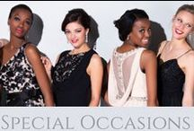 Special Occassions / Bride&co has SA's largest range of bridesmaids and special occasion dresses under one roof, as well as Personal Style Consultants to advise on finding the perfect dress for your body shape.