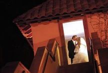 """Bride & Groom / """"We felt so taken care of. The venue itself is so beautiful and my husband and I were so happy with our choice. Our wedding pictures look amazing with the Bell Tower as the backdrop!"""""""