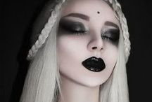 Gothic mystic lady / Mood board for photoshoot