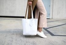 Looks to Love / Here are some looks we love that pair perfectly with your KYLA JOY handbag!