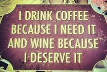 Coffee or Wine, hmmmm
