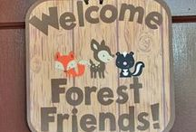 """Jewel's Baby Shower - Forest/Hunting/Woodlands / Baby Shower honoring Jewel Sullivan for Baby Timothy Arthur Sullivan September 10, 2016   Baby Timothy's nursery theme is """"Woodland/Woodsy, forest animals (bears, dear, owl, foxes, etc.) with colors of navy, gray, and white with rustic wood elements"""""""