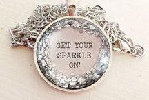 Sparkle / Although KYLA JOY handbags make a statement on their own, a little extra sparkle never hurt anyone!