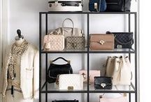 Organized / So many KYLA JOY handbags, yet so little time! Here are some ideas to help you keep them all organized!