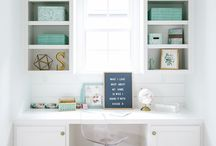 Office: getting studious. / :::chic and calm spaces to use your witty little head:::