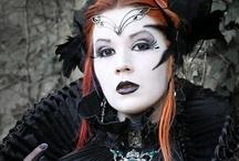 Goth/Dark Beauty / Rock Chic, Glam Rock / by Crush Creative