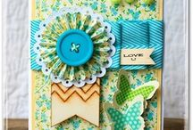 paper crafts - cards / by Sharon O'Neill Kornfield