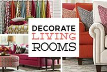 Living Rooms / It's the room in the house that nobody ever wants to leave.  With its great sofas made for snuggling, lounging and anything else.  A place to relax and enjoy your family whatever the size.
