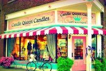 Candle Queen Candles / We put the Fun in Funky!  Candle Queen Candles Gift Boutique carries everything a Girl would Love!  Located in Leavenworth, KS just 20 minutes west of Kansas City!