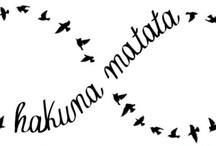 Hakuna Matata + Tattoos / by Barbi Szteinberg