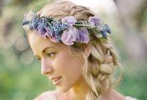 Flower Crowns / FLOWER CROWN #DIYWEDDING #DIYFLOWERS