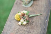 Boutonnieres / Wedding boutonniere ideas. #DIYWEDDING #DIYFLOWERS