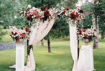 Ceremony Ideas / WEDDING CEREMONY #DIYWEDDING #DIYFLOWERS