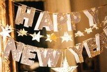 Réveillon / A virada é uma data especial e, para iniciar o ano em grande estilo, decore sua casa para esse momento!