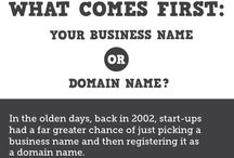 Domain Names for Sale / Buy the right Domain Name for your website page to drive more business your way. / by Michelle Fell