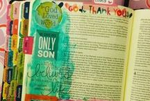 Illustrated Faith/Bible Journaling / Bible journaling, bible art