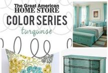 Color Inspiration {Turquoise} / Visit our website at gogahs.com to find more teal decor products. We are always happy to help you decorate your home. There's no place like home! #ShopGAHS #homedecor http://bit.ly/1FOGyYn