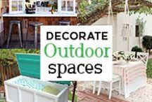 Outdoor Living / Visit our website at gogahs.com to find more outdoor living decor. We are always happy to help you decorate your home. There's no place like home! #ShopGAHS #homedecor http://bit.ly/1FOGyYn
