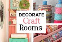 Craft Rooms / Visit our website at gogahs.com to find more craft room decor. We are always happy to help you decorate your home. There's no place like home! #ShopGAHS #homedecor http://bit.ly/1FOGyYn